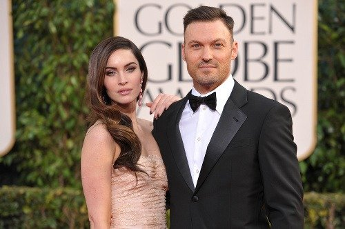 Megan Fox s manželom