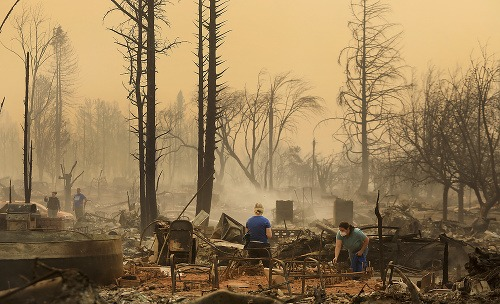 VIDEO Kalifornia pod silnými