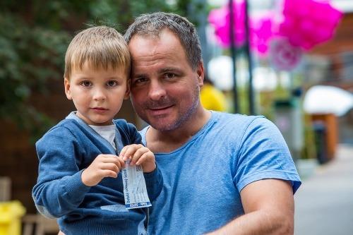 Juraj Droba so synom