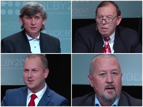 Včerajšia debata kandidátov v