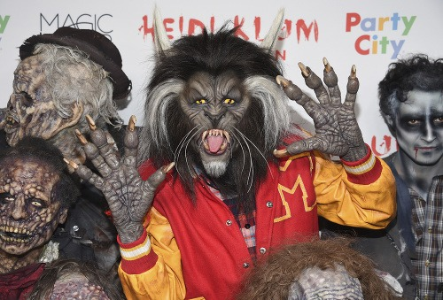 Heidi Klum ako vlkolak