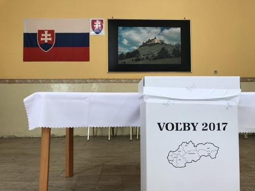 Voľby v Krásnohorskom Podhradí