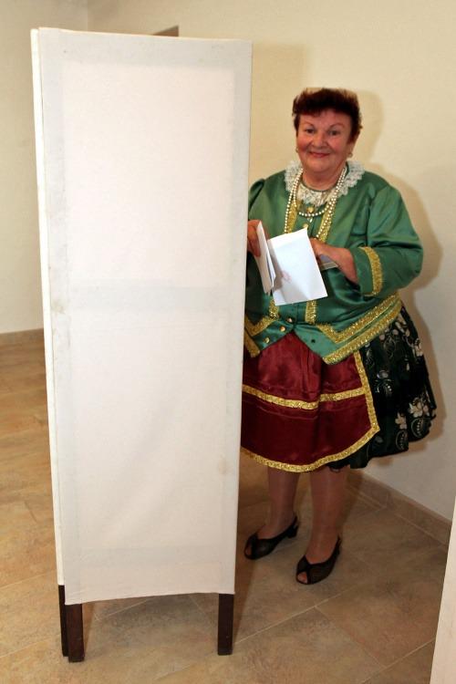Na snímke Izabella Komlósiová