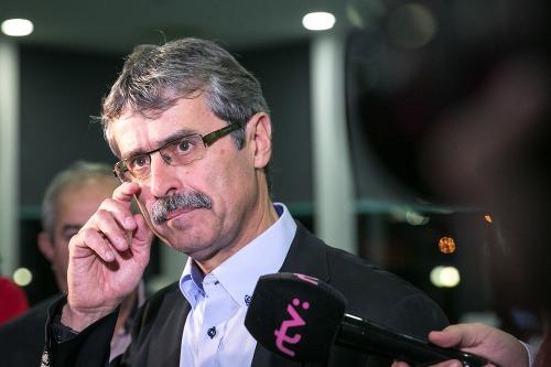 Milan Ftáčnik po porážke