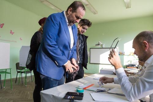 Pavol Frešo počas volieb