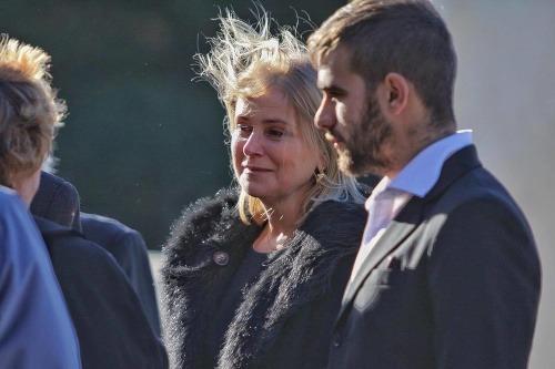 Zrútená Vačková na pohrebe