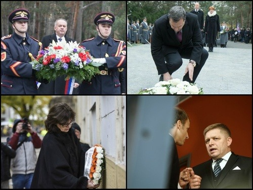 Politici trávili 17. november