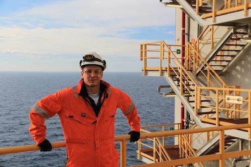 Andrej Tichý na ropnej