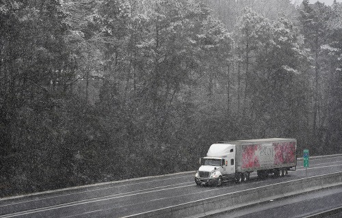 Na juhu USA nasnežilo.