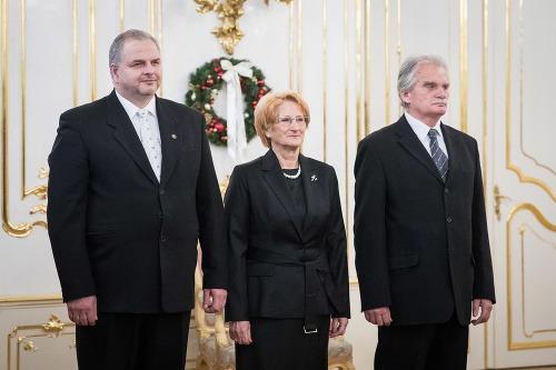 Zľava: Sudcovia Miroslav Duriš,