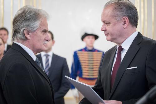 Zľava: Sudca Mojmír Mamojka
