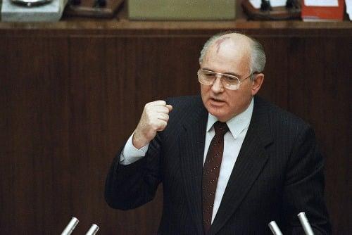 Michail Gorbačov v roku