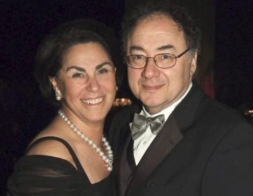 Barry Sherman s manželkou