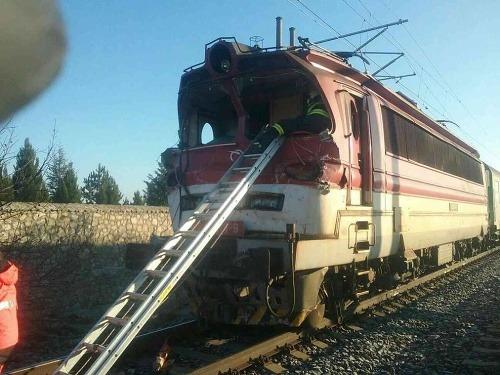 PRÁVE TERAZ Zrážka vlaku