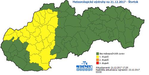 Na Slovensko útočí poľadovica: