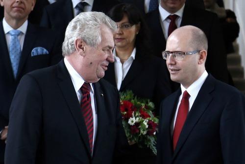 Miloš Zeman a Bohuslav