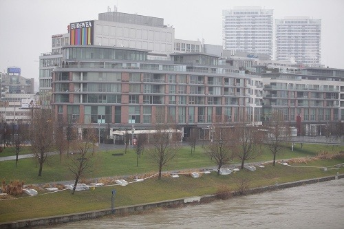 V Bratislave stúpla hladina