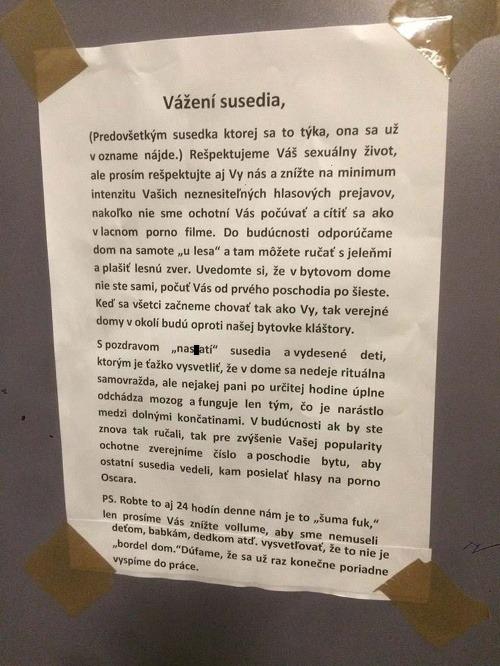 Najvtipnejší ODKAZ v bratislavskom