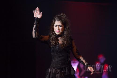 Vanessa Šarköziová v úlohe