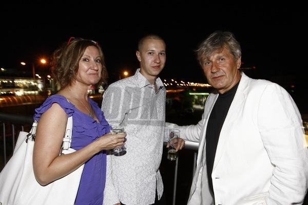 Jakub Kroner s rodičmi