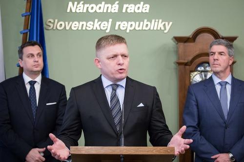 Andrej Danko, Robert Fico