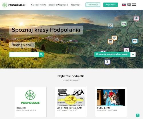 Stránka podpolanie.sk
