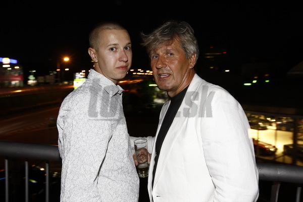 Ján Kroner so synom
