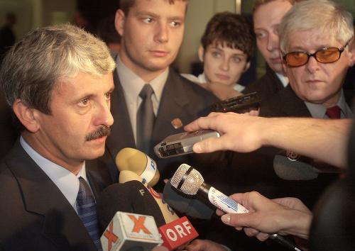 Predseda SDKÚ Mikuláš Dzurinda