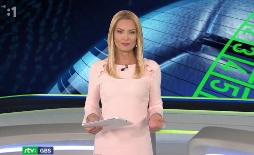 Marianna Ďurianová moderovala Góly,
