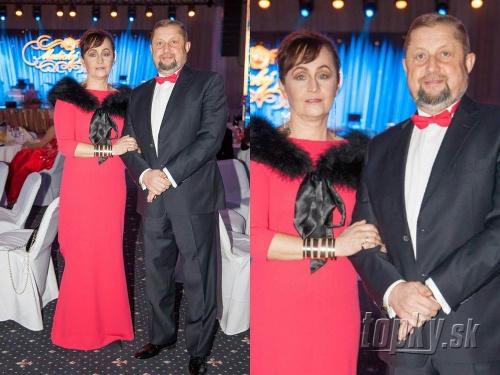 Štefan Harabin s manželkou