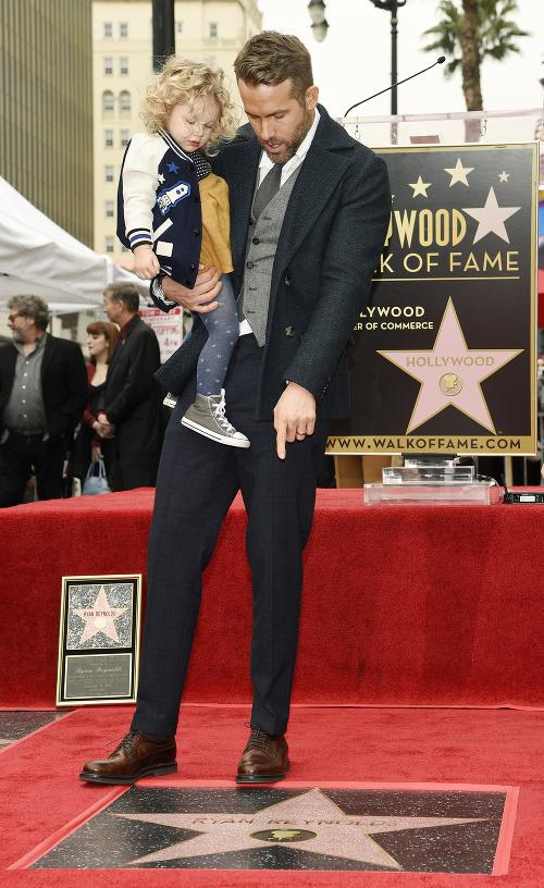 Ryan Reynolds s dcérkou