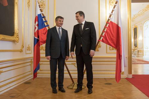 Marek Kuchciński a Andrej