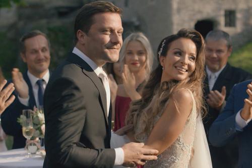 0565ae5b79aa Daniela z Twiins vo svadobnom  Z Milenky sa stala prekrásna nevesta ...