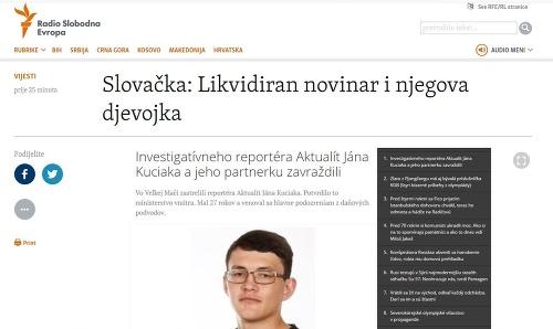 Svetové médiá o vražde