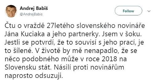 Status Andreja Babiša