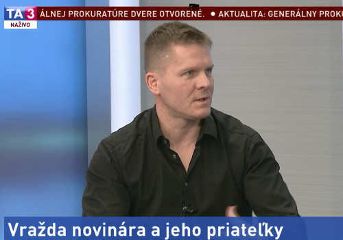 Novinár Ivan Mego bol