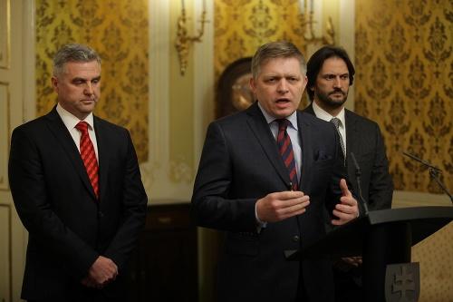 Zľava: Tibor Gašpar, Robert