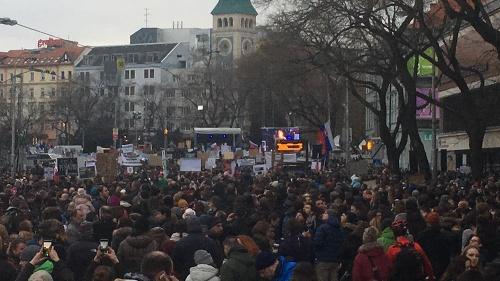 Pochod v Bratislave