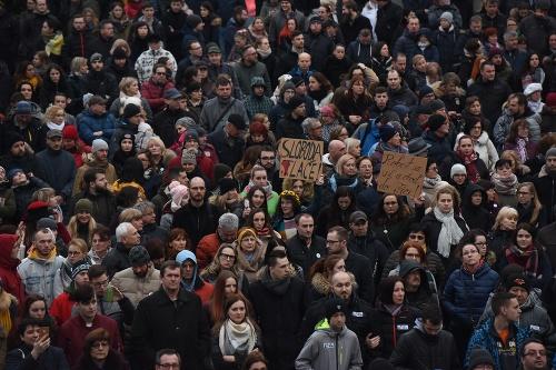 Protest v Trnave