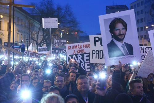 Protest v Bratislave