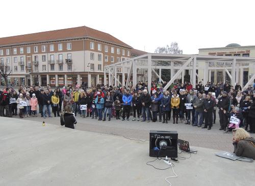 Protest v Žiari nad