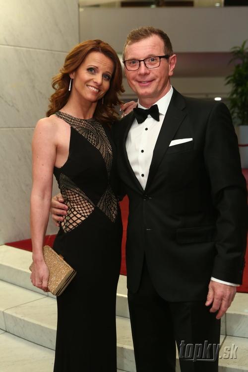 Vlado Voštinár s manželkou