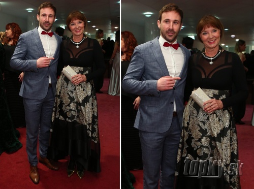 Marek Fašiang s mamou
