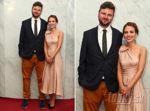 Ján Gordulič s manželkou,