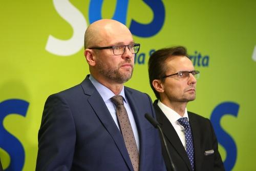 Richard Sulík a Ľubomír