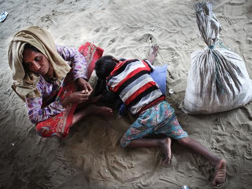 Exodus Rohingov stále pokračuje