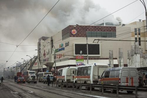 VIDEO Požiar v obchodnom