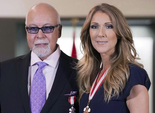 Céline Dion svojho manžela