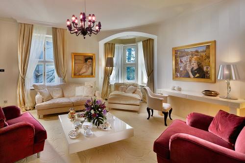 Prezidentský apartmán v hoteli
