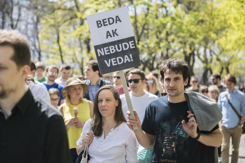Pochod za vedu v